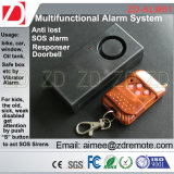 Alarme do carro/alarme da bicicleta/alarme de porta com 433/315 de controle remoto