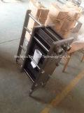 Cambista de calor inoxidável da placa de aço para o gelado