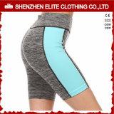 Cortocircuitos modificados para requisitos particulares baratos al por mayor de Activewear de la ropa de la gimnasia (ELTLI-130)