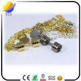 Формы право подарка сувенира клуба спорта ожерелье золота милой привесное