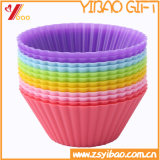 Förderung buntes Ketchenware, das Hilfsmittel-Silikon-Kuchen-Form (YB-HR-48, kocht)