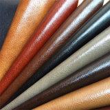 Anti-Abrasion лоснистая кожа PU для мебели Hx-F1735 софы