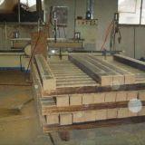 Uso de interior tejido hilo económico del entarimado de bambú