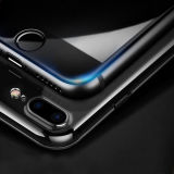 la surface 3D incurvée a complètement couvert le film en verre Tempered de fibre de carbone pour l'iPhone 7/7 positif
