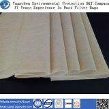 Tela industrial del paño del filtro de aire de las piezas o del filtro para la filtración del polvo