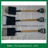 Лопаткоулавливатель и лопаткоулавливатель ручки ручного резца лопаты деревянный