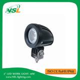 안개 12V 차 기관자전차 배 ATV를 운전하는 10W 크리 사람 LED 일 빛 투광 조명등