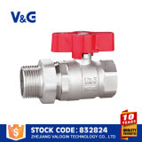 Шариковый клапан соединения списка цен на товары шарикового клапана Китая ручной (VG-A21321)
