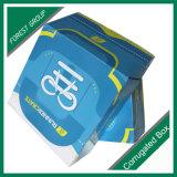 Venta caliente de encargo de la caja de papel corrugado de color atractivo
