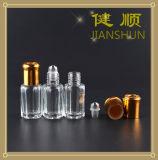 Стеклянная бутылка дух с алюминиевой крышкой бутылки