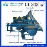 Gomma semiautomatica che ricicla riga/macchina di gomma della polvere