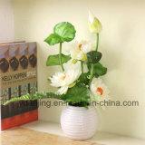 De Bloemen van de Zijde van de Kunstbloem van de Bloem van Lotus