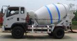 Preço cúbico do caminhão do misturador concreto dos medidores do caminhão 5 pequenos do cimento