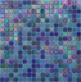 Het blauwe Mozaïek van het Glas van het Iridium voor de Tegel van de Muur