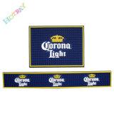 Couvre-tapis mou antidérapage de barre de silicones de promotion de publicité d'impression de marque
