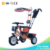 جديدة! [شلد تريسكل] /Kids [تريك/] طفلة درّاجة ثلاثية مع 3 عجلات