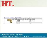Encaixe de cotovelo masculino de Douele da tubulação 1/8inch de bronze