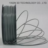 filamento del negro de la impresora del PLA 3D de 3m m /1.75mm
