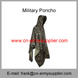 A chuva Raincoat-Militar Engrenagem-Militar da chuva militar Terno-Camufla o Poncho Poncho-Militar