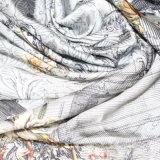 Ткань 100% сатинировки полиэфира высокого качества напечатанная цифров