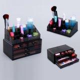 Tiroirs cosmétiques acryliques fauves d'organisateur de renivellement