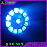 Luz móvil de la etapa de la pista LED del ojo de la abeja del zoom 19X15W de DMX