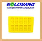 Cassetti a forma di del cubo di ghiaccio del silicone dei mattoni