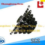 Stahlzahn-Rollen-anhebendes Kettenkettenrad mit mehrfachen Reihen