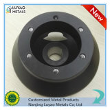 Алюминий 6061 подвергая механической обработке с подвергать механической обработке CNC Precisiom покрытия/алюминия порошка