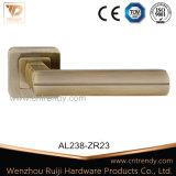 Traitement de levier en aluminium de porte de zinc de matériel de meubles sur le cache (AL238-ZR23)
