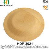 Placa de bambu descartável biodegradável da fibra de 2016 vendas quentes (HDP-3021)