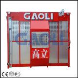 Gaoliの二重ケージが付いている広く利用された構築の起重機