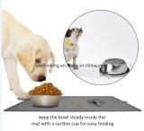 Prueba mágica de la estera del tazón de fuente del animal doméstico del lechón (sin el tazón de fuente) FDA pasajera