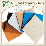 Le contre-plaqué/polyester de recouvrement de /Paper de contre-plaqué stratifiés par mélamine a recouvert le contre-plaqué, contre-plaqué enduit par PVC