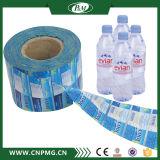 Ярлык втулки PVC теплоусаживающ для воды в бутылках