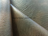 Cuero artificial del PVC del diseño caliente para la tapicería del sofá/de los muebles y la decoración interior del hogar