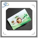 Smart card do contato para o consumo e a operação bancária eletrônicos comerciais