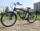 schwanzloses motorisiertes Strand-elektrisches Fahrrad der Mann-250W mit LCD-Bildschirmanzeige