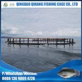 Cage de cage de poisson en PEHD pour aquaculture profonde
