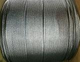 직류 전기를 통하는 6X12+7FC와 Ungalvanized 철강선 밧줄