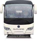 Bus van de Passagier van de Bus van het Merk van diesel de Met één dek Sunlong van Zetels 31-50 Interlokale (SLK6112A)