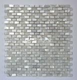 Het zoetwater Shell en van het Marmer en van het Kristal Mozaïek van het Glas 10*20