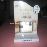 Présentoir acrylique d'appareil-photo pour la mémoire Btr-C4167 d'appareil-photo de Benq