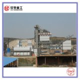 Mezcla caliente planta de mezcla del asfalto de 80 t/h con la hornilla de Riello
