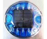 Gato de Ojos de Plástico Reflectante Solar LED Camino Stud