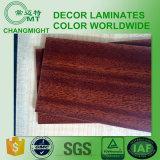 HPL / Madera Laminados / plástico laminado decorativo de madera del color