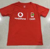 T-shirt feito sob encomenda dos homens da qualidade para empregados da companhia