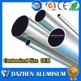 Popular personalizado Tamaño de aluminio tubo redondo de extrusión de tubos de perfil