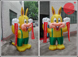 Mascotte gonfiabile C1-305 del Grandpa del personaggio dei cartoni animati