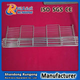 Banda transportadora de la flexión plana del acero inoxidable 316